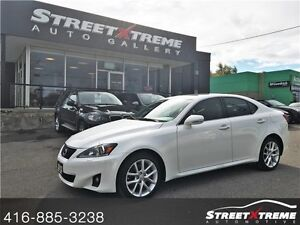 2012 Lexus IS 250  KEYLESS, NAVI, BACKUP CAM, SUNROOF, LEATHER
