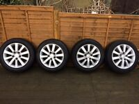 Honda Civic Alloy Wheels with Tyres x 4