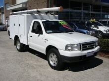 2006 Ford Courier PH GL (4x4) White 5 Speed Manual Wangara Wanneroo Area Preview