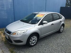 2010 Ford Focus LV CL Silver 4 Speed Automatic Hatchback