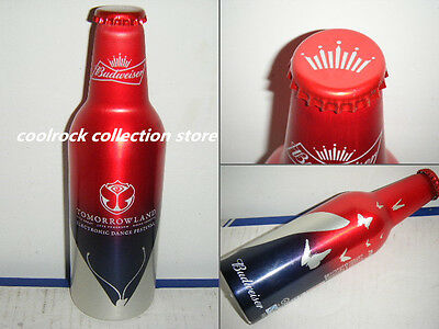 2016 China Budweiser beer TOMORROWLAND aluminium bottle 355ml empty