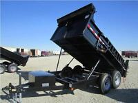 GATOR TRAILER DUMPER DUMP HYDRAULIC 7 X 12 FT