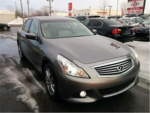2011 Infiniti G37 Luxury,4X4 CAMERA/PARKING SENSOR,TOIT,Cuir,Air