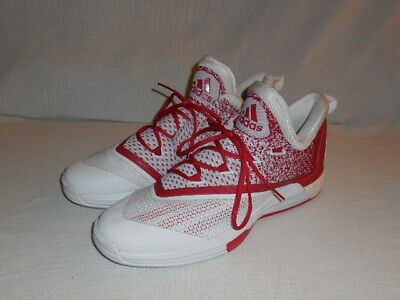 8e823910f9ce Adidas SM on Court Crazylight Boost 2 Basketball Shoe (WHITE RED) MENS 14