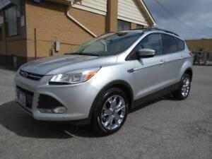 2013 FORD Escape SEL AWD 2.0L Leather Sunroof Navi ONLY 93,000Km