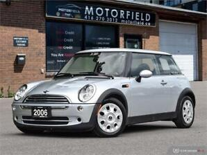 2006 MINI Cooper Hardtop *One Owner, Accident Free, Certified*