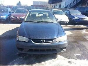 2001 TOYOTA COROLLA 5 SPEAD MANUAL SOLD AS IS