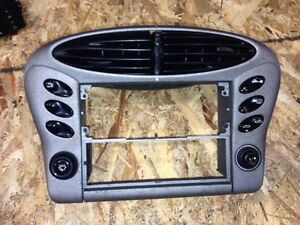 97 04 porsche boxster s 986 996 radio heater control interior trim w switches for Porsche 996 interior trim parts