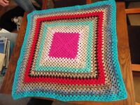 Brand new Crochet pet blanket, all proceeds to PDSA
