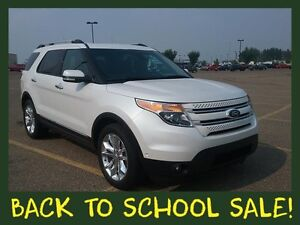 2014 Ford Explorer Limited 7 Passenger 4x4