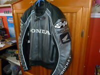Motorcycle Leather Jacket, Honda CBR, Joe Rocket