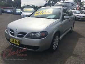 2004 Nissan Pulsar N16 MY03 Q Silver 5 Speed Manual Hatchback Lansvale Liverpool Area Preview