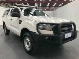 2017 Ford Ranger PX MKII 2018.00MY XL SUPER CAB White Manual Freestyle Utility Fyshwick South Canberra Preview
