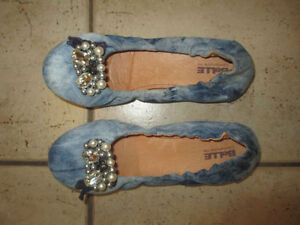 Heels (for prom), boots, flats, size 7, 7.5 $ 5 per pair Kitchener / Waterloo Kitchener Area image 3