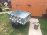 Brand New 3ft by 4ft Erde Camping Tipping Trailer Only £245 - Rear End Opens Up As Well