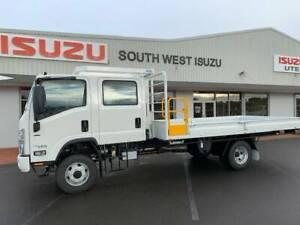 ISUZU TRUCK, NPS 75-155, 4x4, 4.5M TRAY, D.CAB, 2018 Picton Bunbury Area Preview