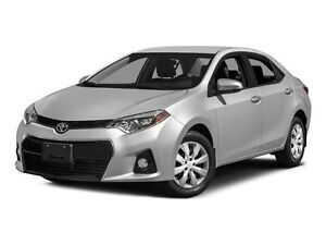 2015 Toyota Corolla S - 1 Owner - Low Mileage