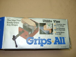 Grips-All - Vise for Odd shapes