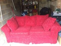 Free- good quality 2 seater sofa with fire certificate