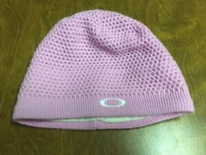 Pink Women's Winter Oakley Beanie