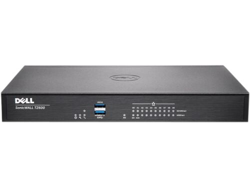 Dell Sonicwall 01 Ssc 0505 Vpn Wired Tz400 Gen 6 Firewall