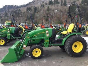 32 HP Tractor