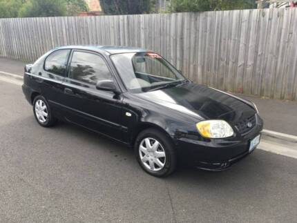 2003 HYUNDAI ACCENT HATCH (FOUR CYLINDER AUTO) North Hobart Hobart City Preview