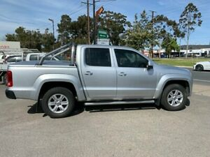 2014 Volkswagen Amarok 2H MY14 TDI400 Trendline (4x4) Silver 6 Speed Manual Dual Cab Utility West Croydon Charles Sturt Area Preview