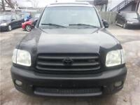 2001  TOYOTA SEQUOIA! FULLY LOADED! LIMITED!