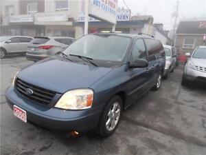 2006 Ford Freestar V6 4.2L Leather Blue 155,000km