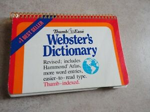 Webster's Pocket Size Dictionary Excellent condition London Ontario image 3