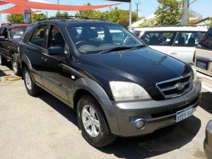 2006 Kia Sorento BL MY06 EX Black 5 Speed Automatic Wagon Victoria Park Victoria Park Area Preview