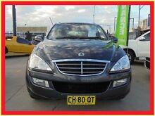2010 Ssangyong Kyron D100 MY09 M200 XDi Grey Auto Sports Mode Wagon Holroyd Parramatta Area Preview