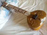 A Really Great Indian TEAKWOOD Sitar For Sale !!!!