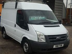 FORD TRANSIT 2.2 260 SHR 1d 85 BHP Parrot Blue Tooth, Parking S (white) 2011
