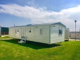NEW CENTRE LOUNGE STATIC CARAVAN FOR SALE, 2017 SITE FEES INCLUDED. NORFOLK COAST, NEAR BEACH