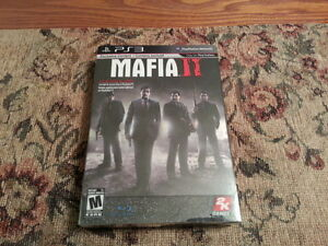 (VERY RARE!) BRAND NEW, NOT SEALED MAFIA 2 COLLECTOR'S ED ON PS3