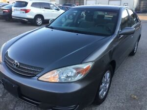 2002 Toyota Camry XLE_ CLEAN VEHICLE_ SUNROOF_CERTIFIED PRICE