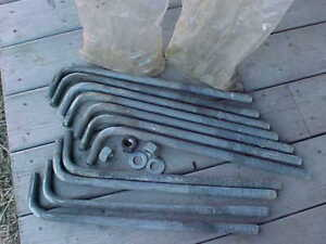 Anchor Bolts, Large