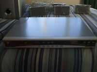 grundig home theatre system - GDV5804, sub woofer & 5 satellite speakers