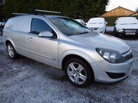 Vauxhall Astra 1.9 CDTI Sportive Van ....The Most Sought After Van in Metallic Silver, No Vat !!