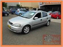 2001 Holden Astra TS CD Silver 4 Speed Automatic Hatchback Warwick Farm Liverpool Area Preview