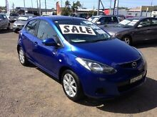 2008 Mazda 2 DE Maxx Blue 5 Speed Manual Hatchback Broadmeadow Newcastle Area Preview