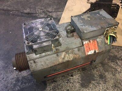 Mitsubishi Ac Spindle Motor 1115 Kw Sj-18.5bw4 680-850-6000 Rpm 1997 Used
