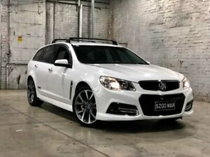 2013 Holden Commodore VF MY14 SS V Sportwagon White 6 Speed Sports Automatic Wagon Mile End South West Torrens Area Preview