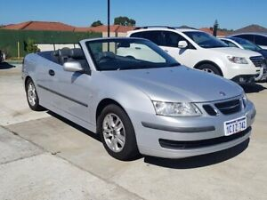 2005 Saab 9-3 442 MY2005 Linear Silver 5 Speed Sports Automatic Convertible St James Victoria Park Area Preview