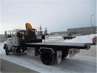 2014 Peterbilt 337 W/ Copma Crane and Kargo King Roll Off
