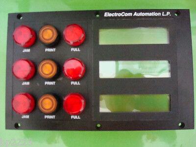 Electrocom Automation Operator Interface Panel Board 58656 40004 0492 E22d New