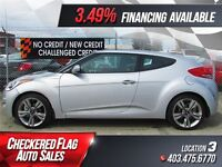2013 Hyundai Veloster Tech *EVERYONE APPROVED* $179/BW $0 DOWN!!