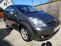 STUNNING ONE LADY OWNER TOYOTA COROLLA VERSO 7 SEATER VVTI 1.8 T3 MPV.